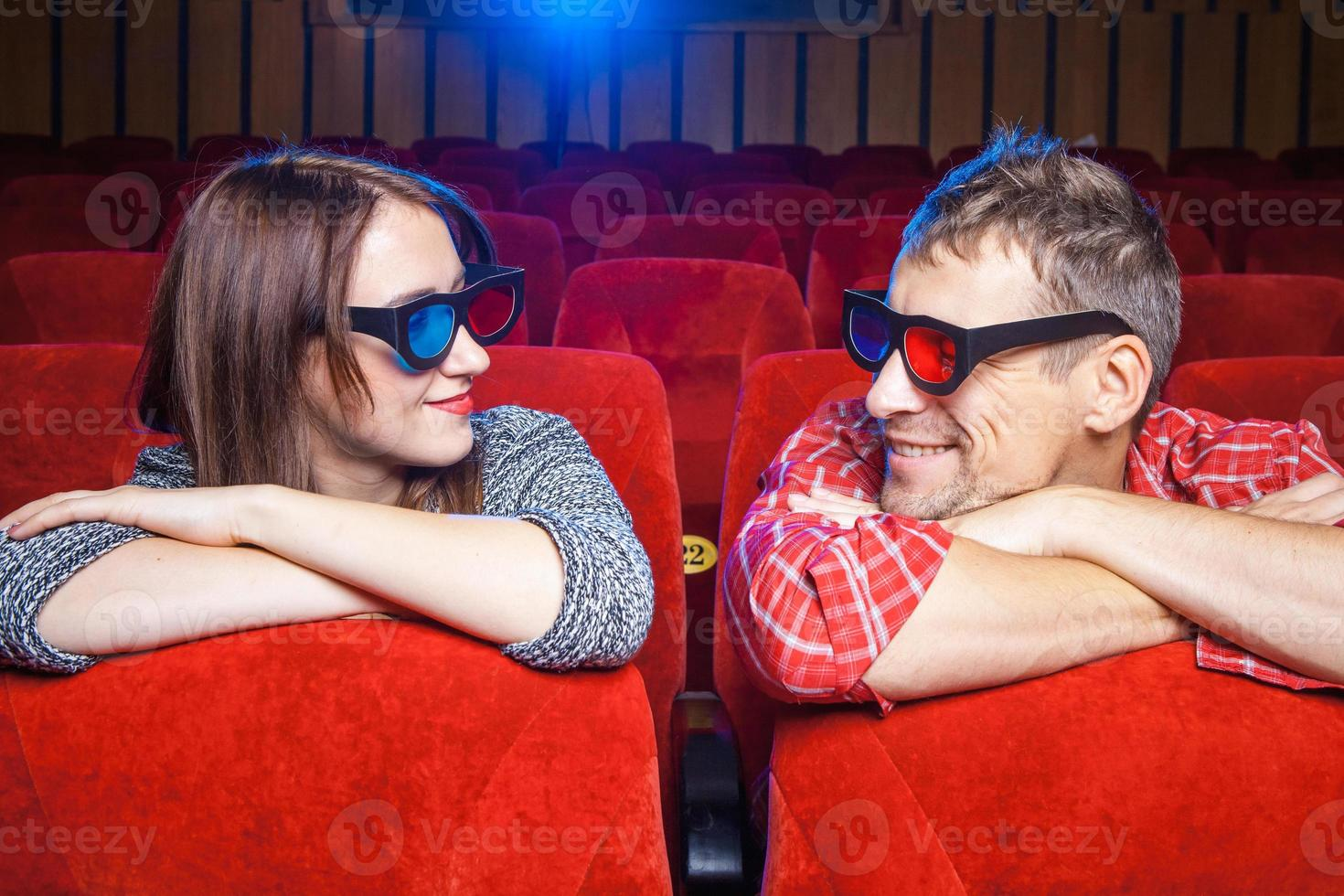 les spectateurs au cinéma photo