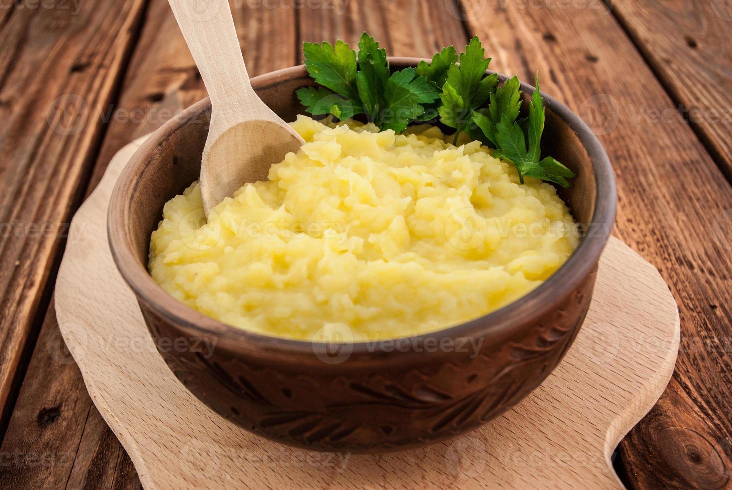 pommes de terre en purée photo