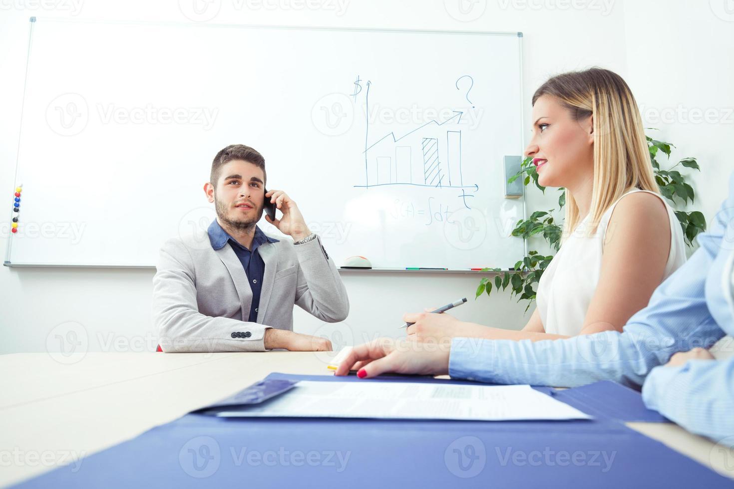 appel téléphonique professionnel photo