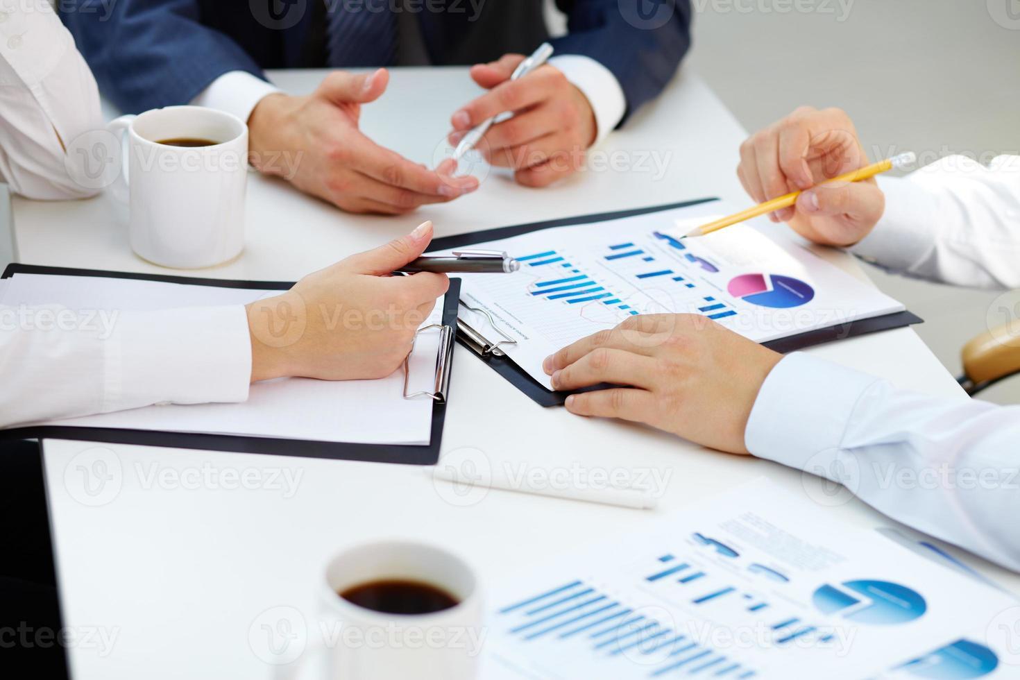rapports financiers photo