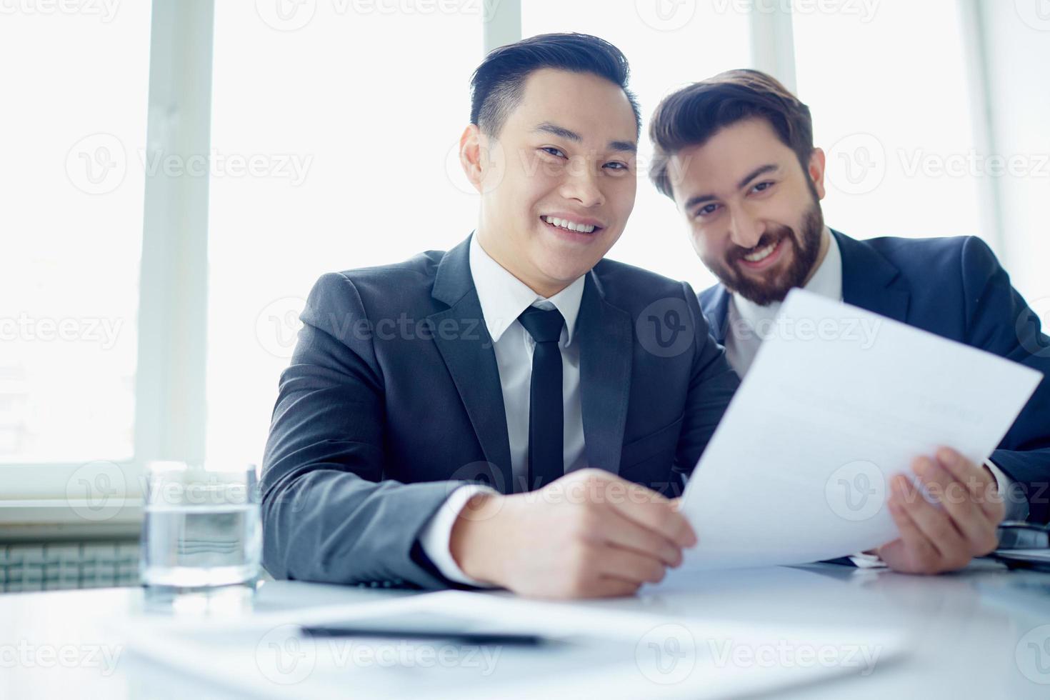 partenaires heureux photo