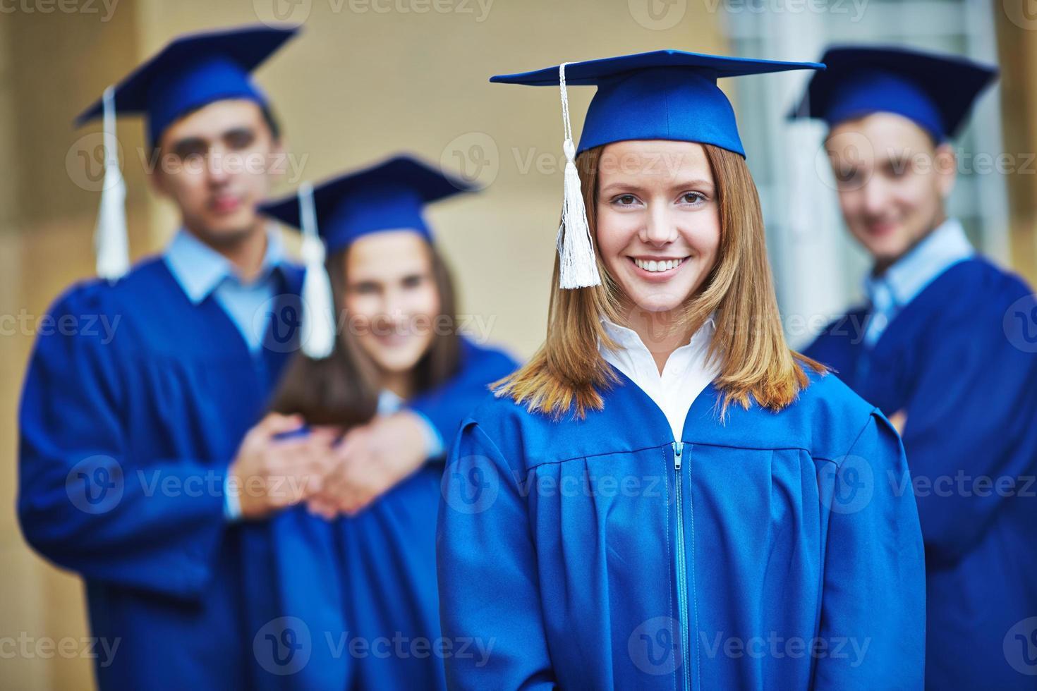 diplômé réussi photo