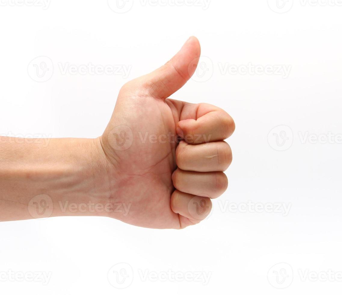 doigt pour comme photo