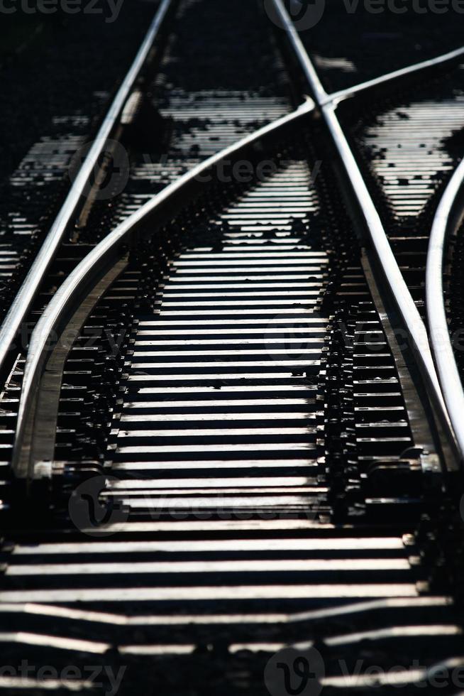 passage de ligne de train photo