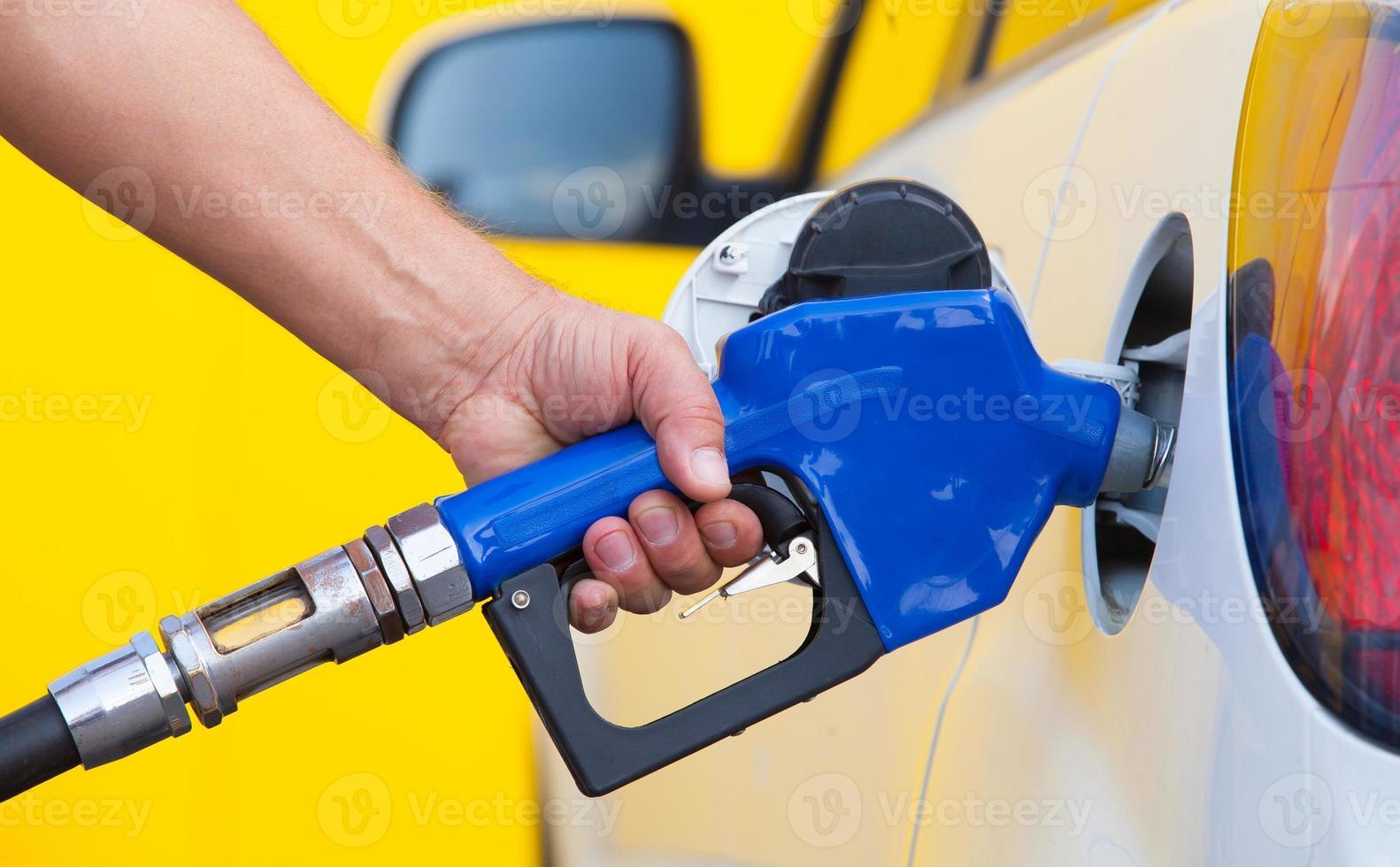 pompage de gaz photo