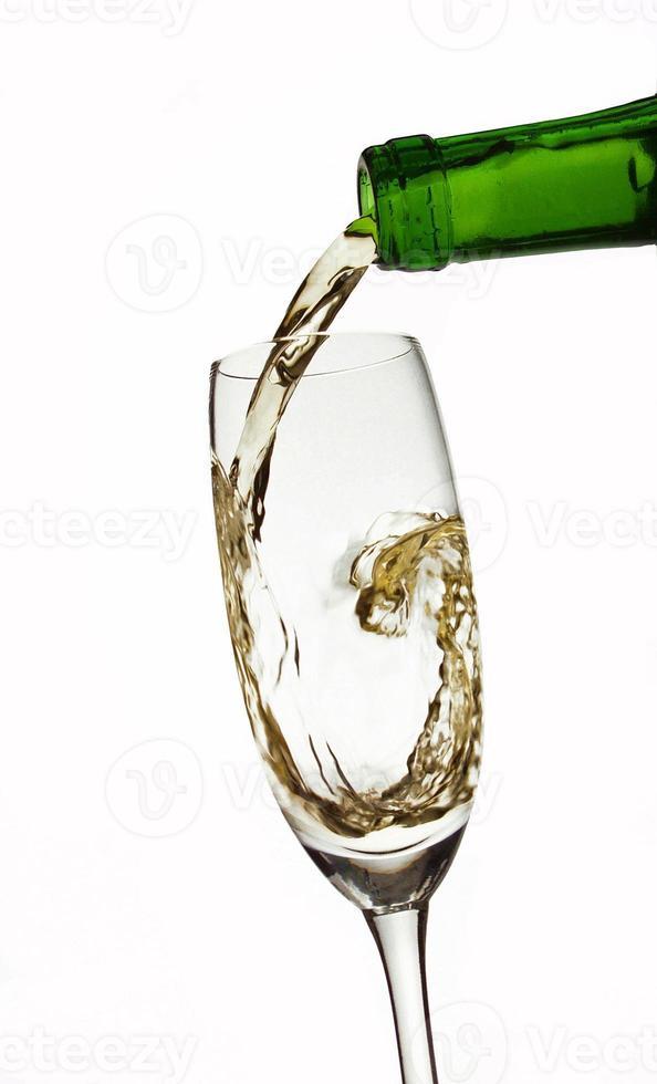 boire du verre. photo