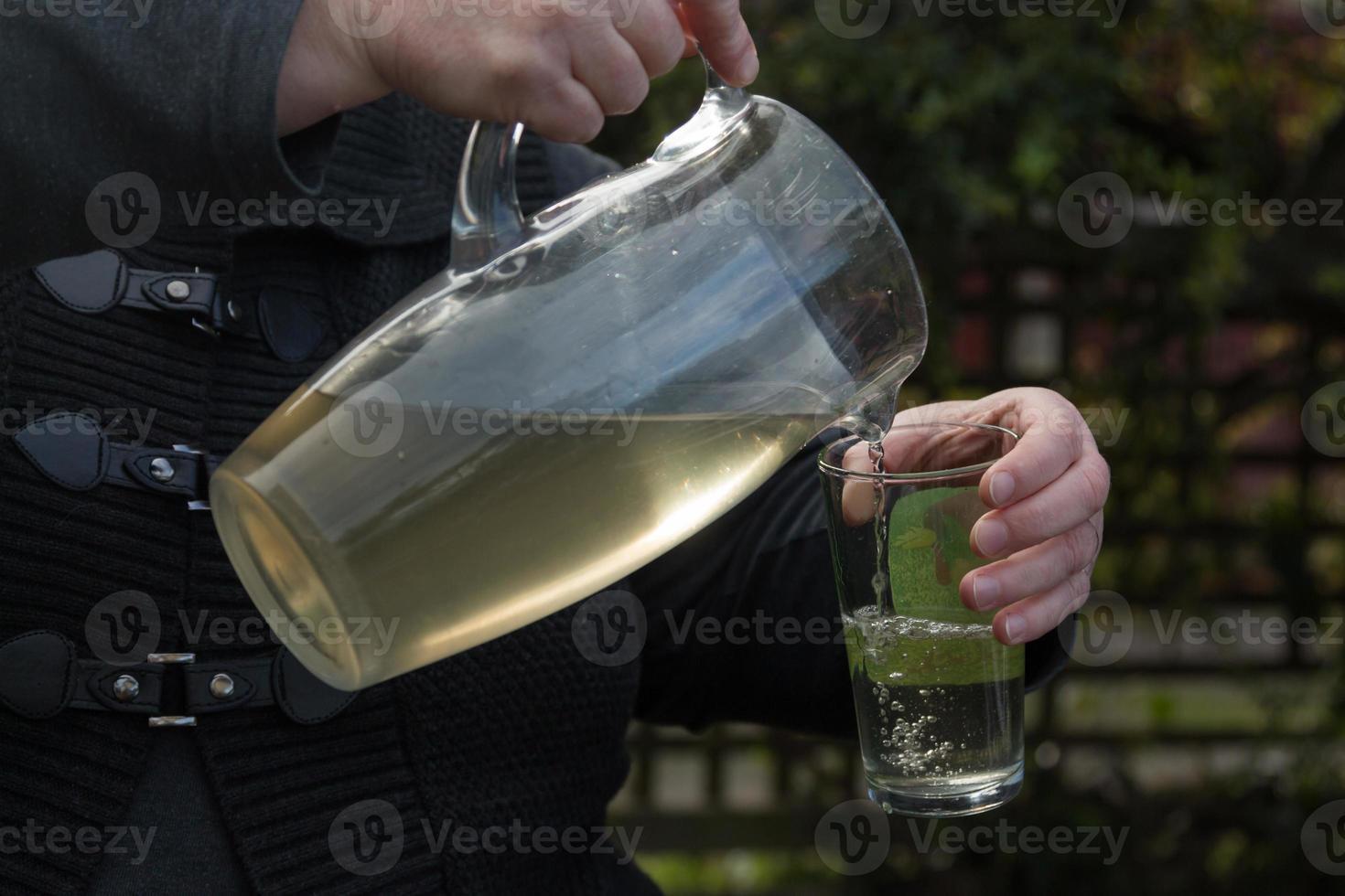 boire de l'eau photo