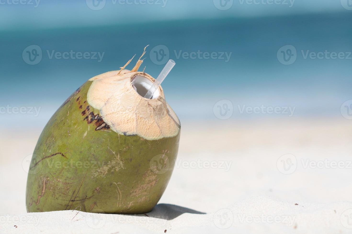 boisson à la noix de coco photo