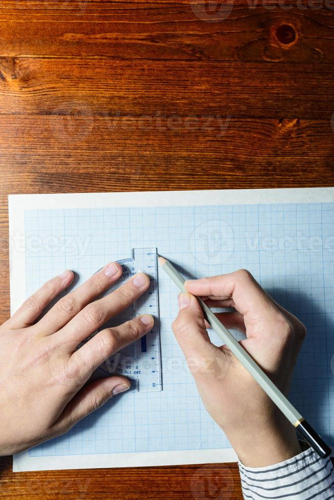 dessin des mains photo
