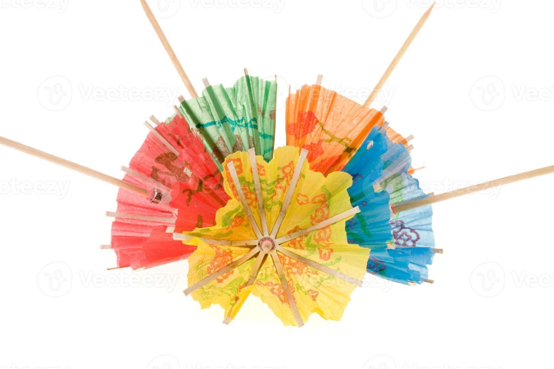 parapluies de boisson photo