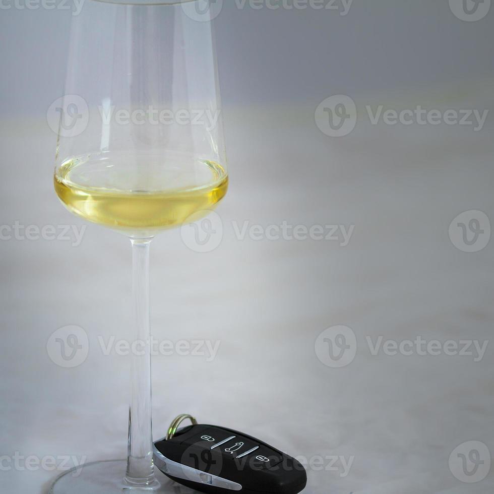au volant, pas d'alcool photo