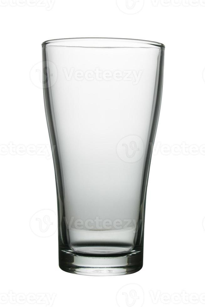 tasse de verre à boire vide photo