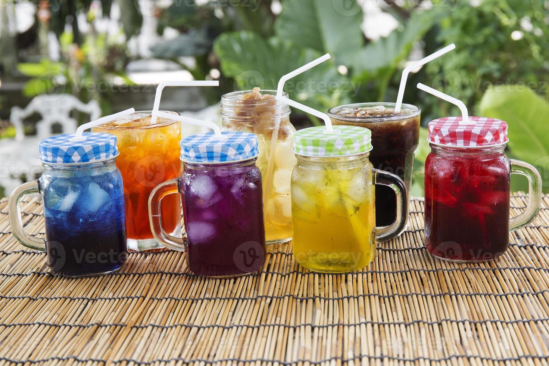 boisson froide de style thaï photo