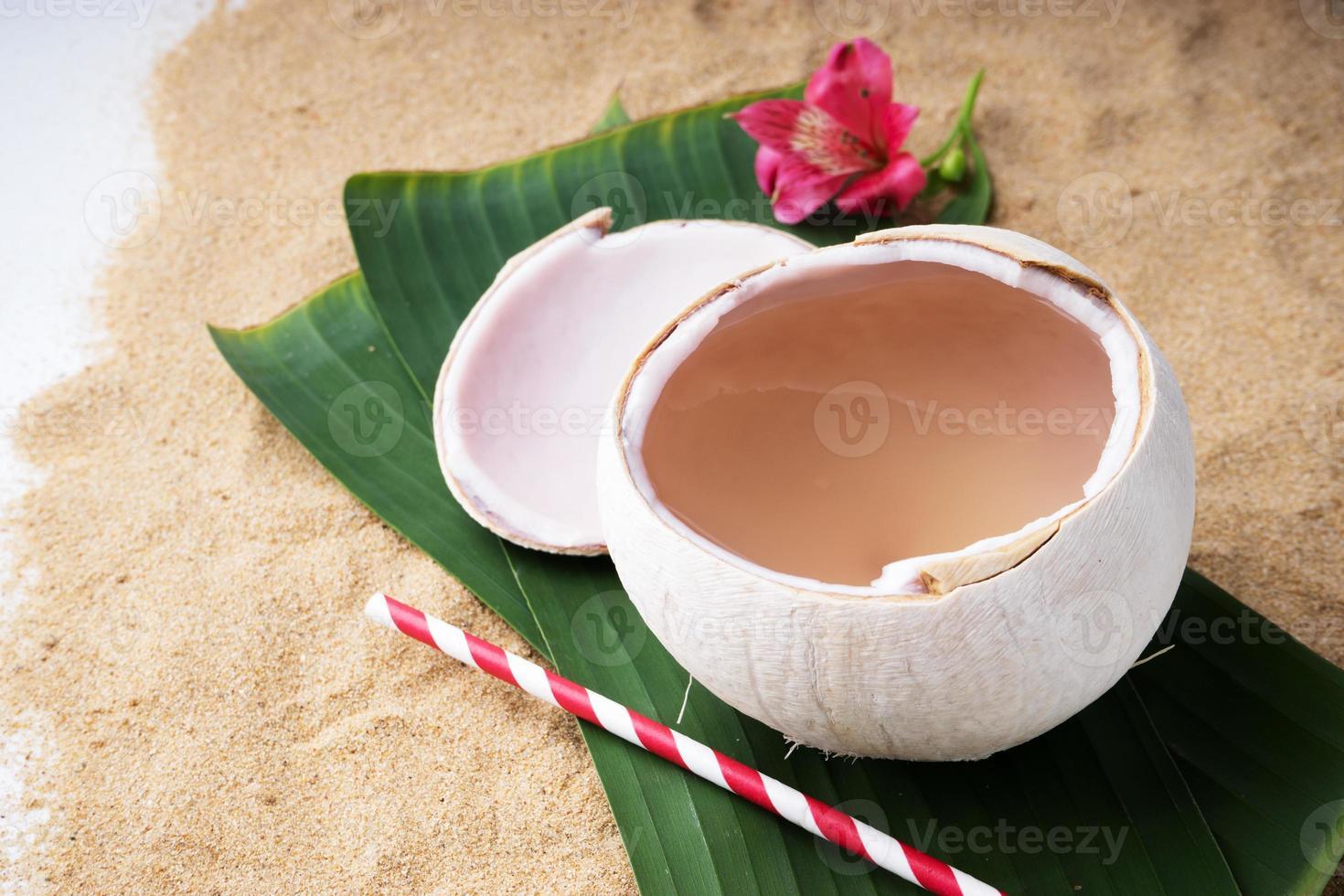 boisson à l'eau de coco photo
