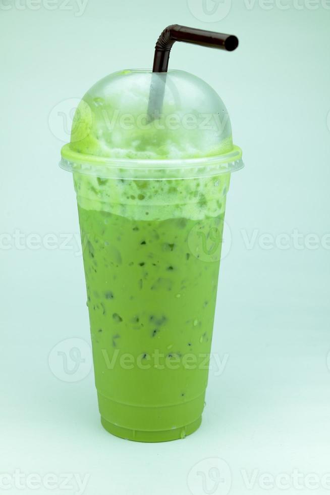 boissons au thé vert populaires. photo