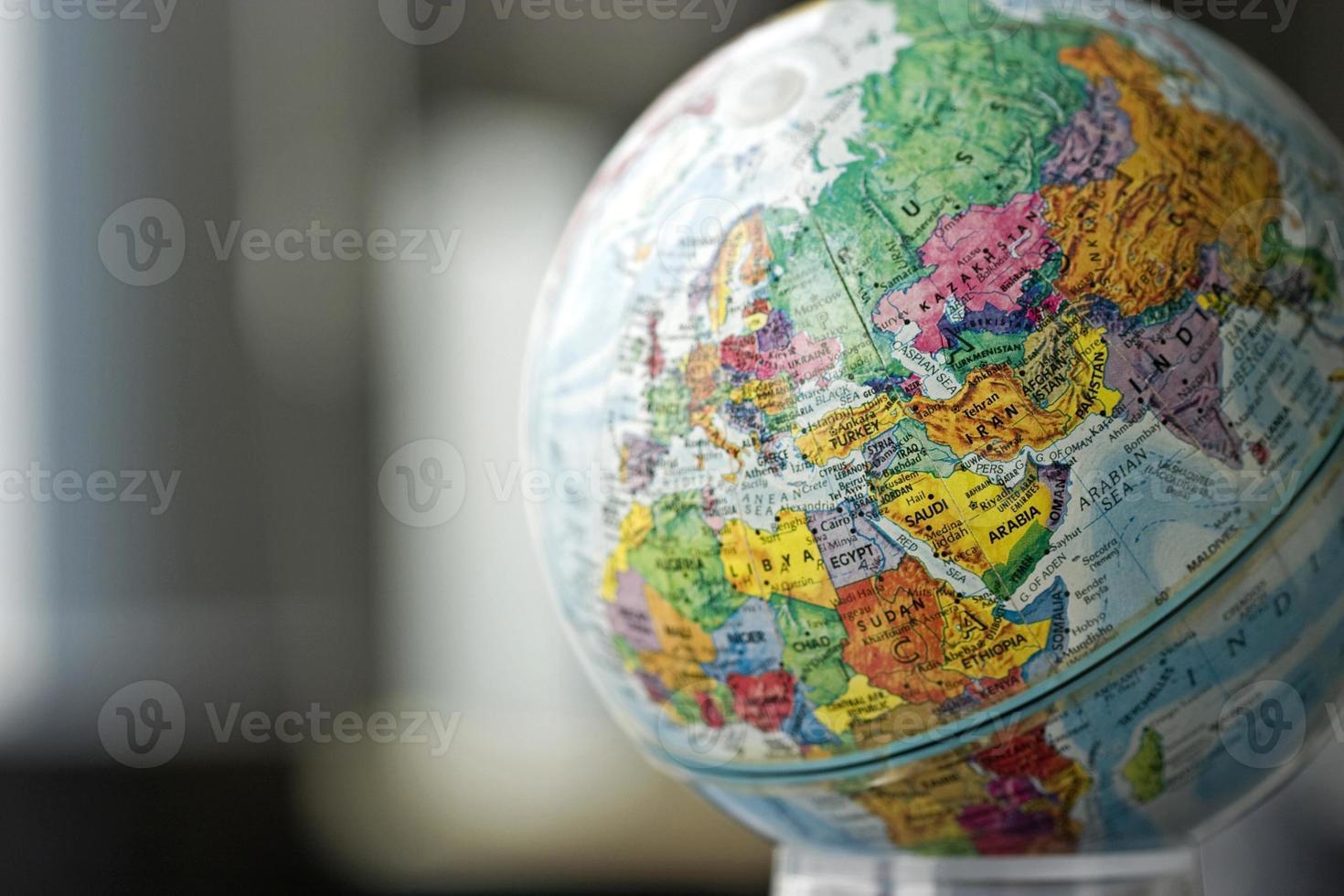 modèle globe photo
