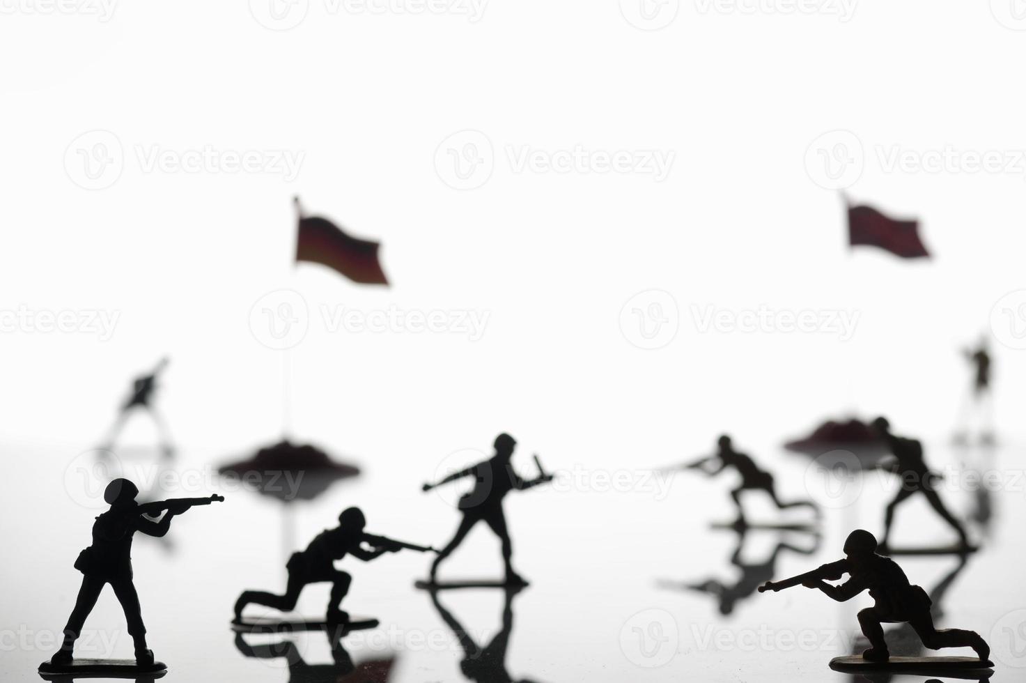 guerre de soldat jouet photo