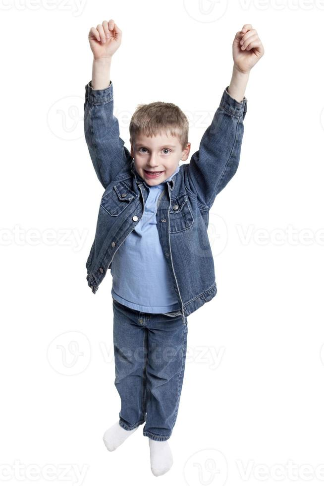 garçon applaudir photo