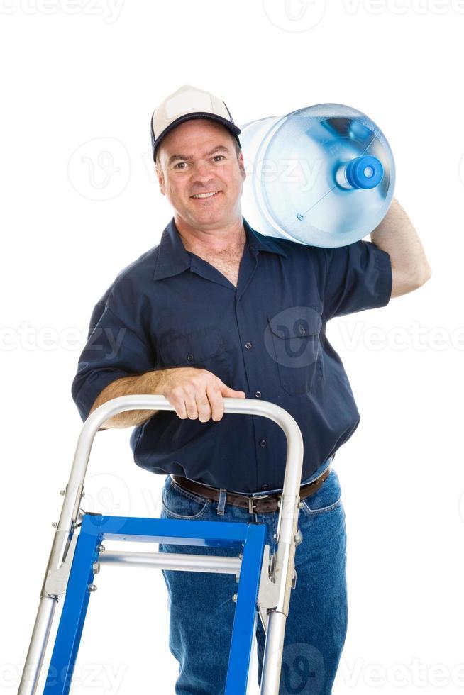 livraison d'eau - joyeux photo