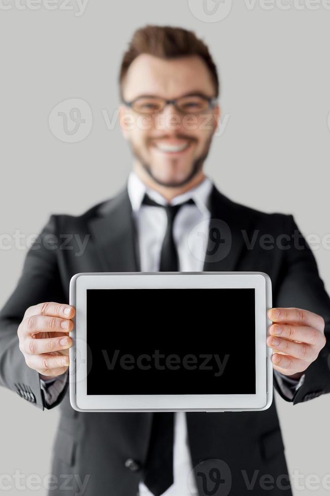 copier l'espace sur sa tablette. photo