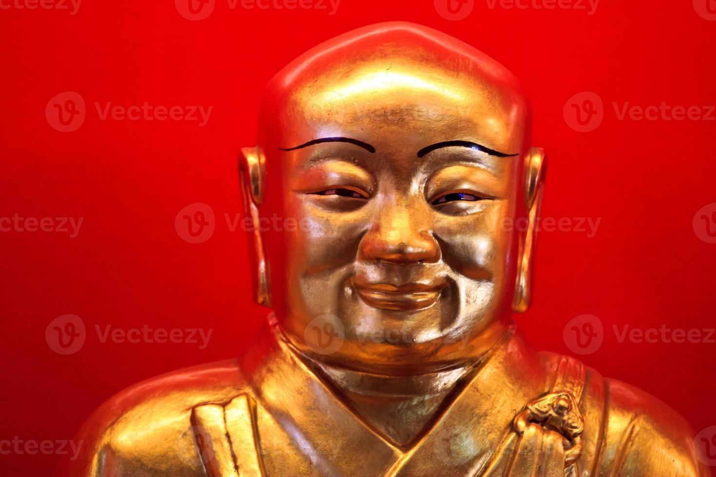 beau visage de l'image de Bouddha photo