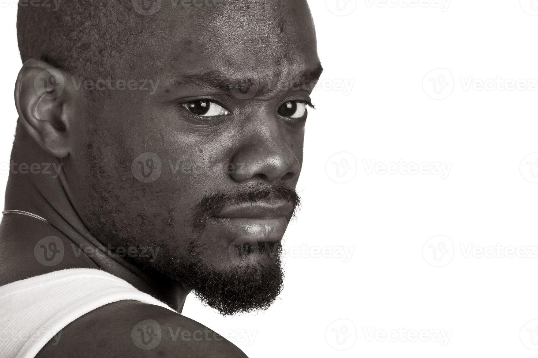 homme afro-américain photo