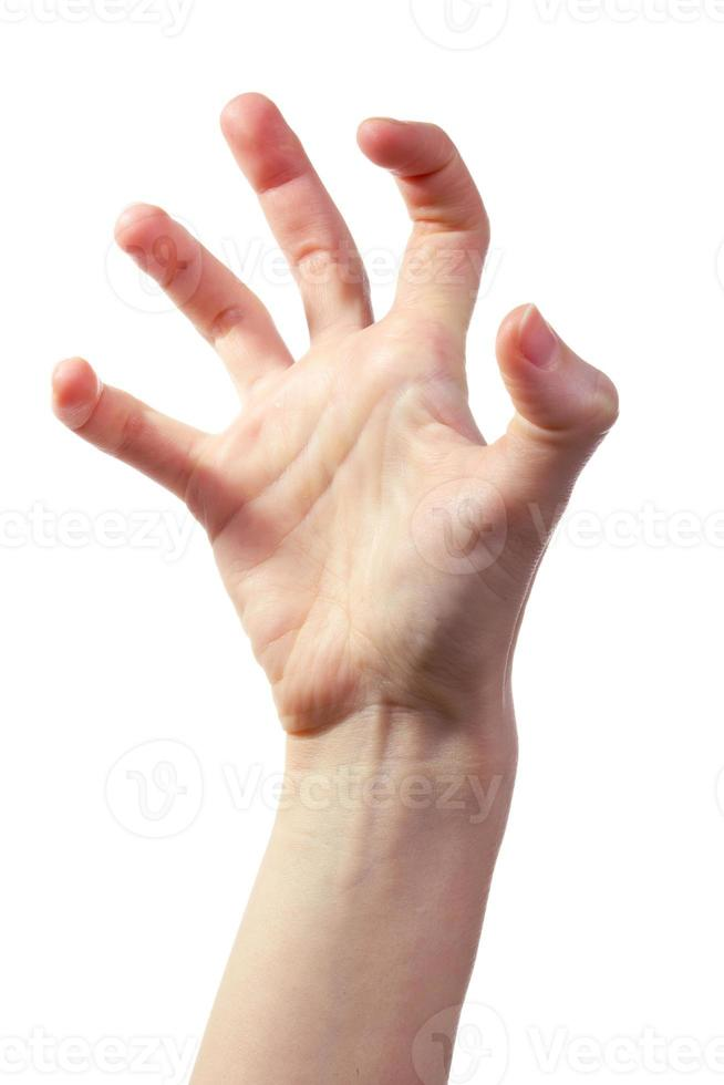 main effrayante photo