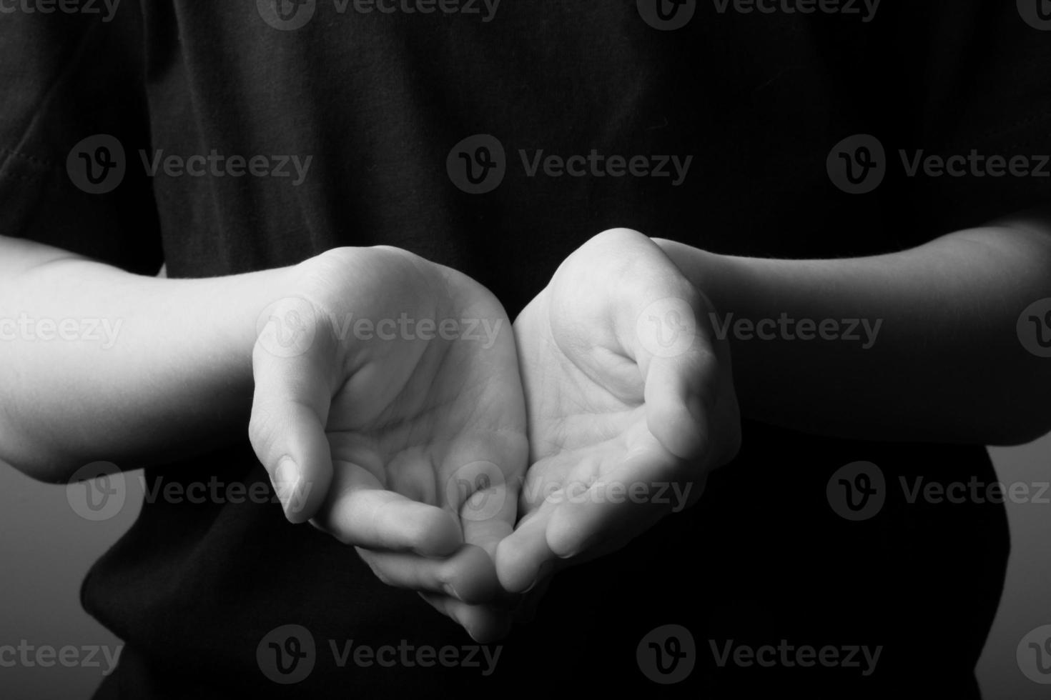 mains en coupe photo