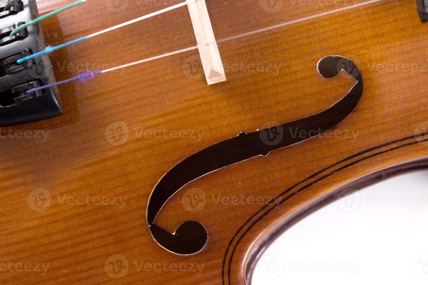 violon en gros plan photo