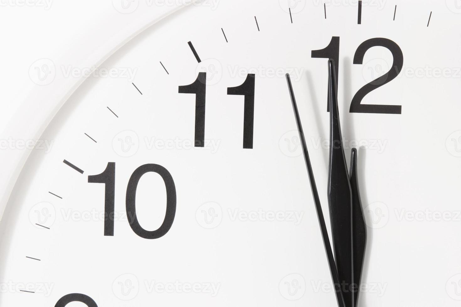 gros plan de l'horloge photo