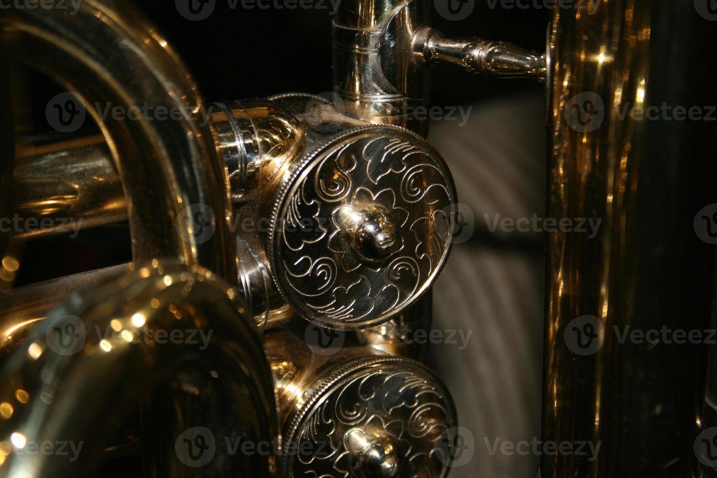 gros plan de valves tuba photo