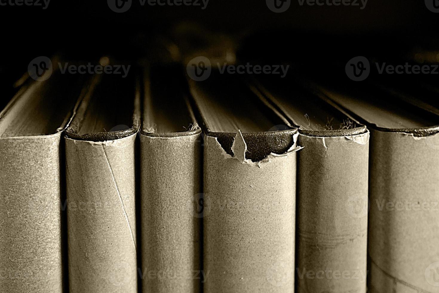 vieux livre bouchent photo