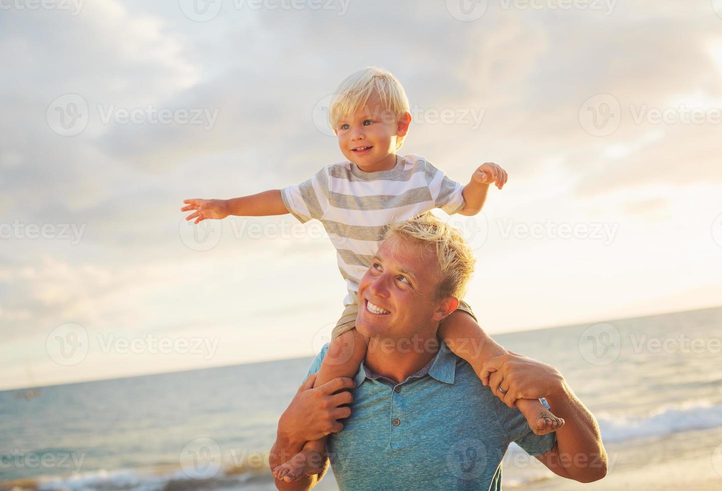 père et fils photo