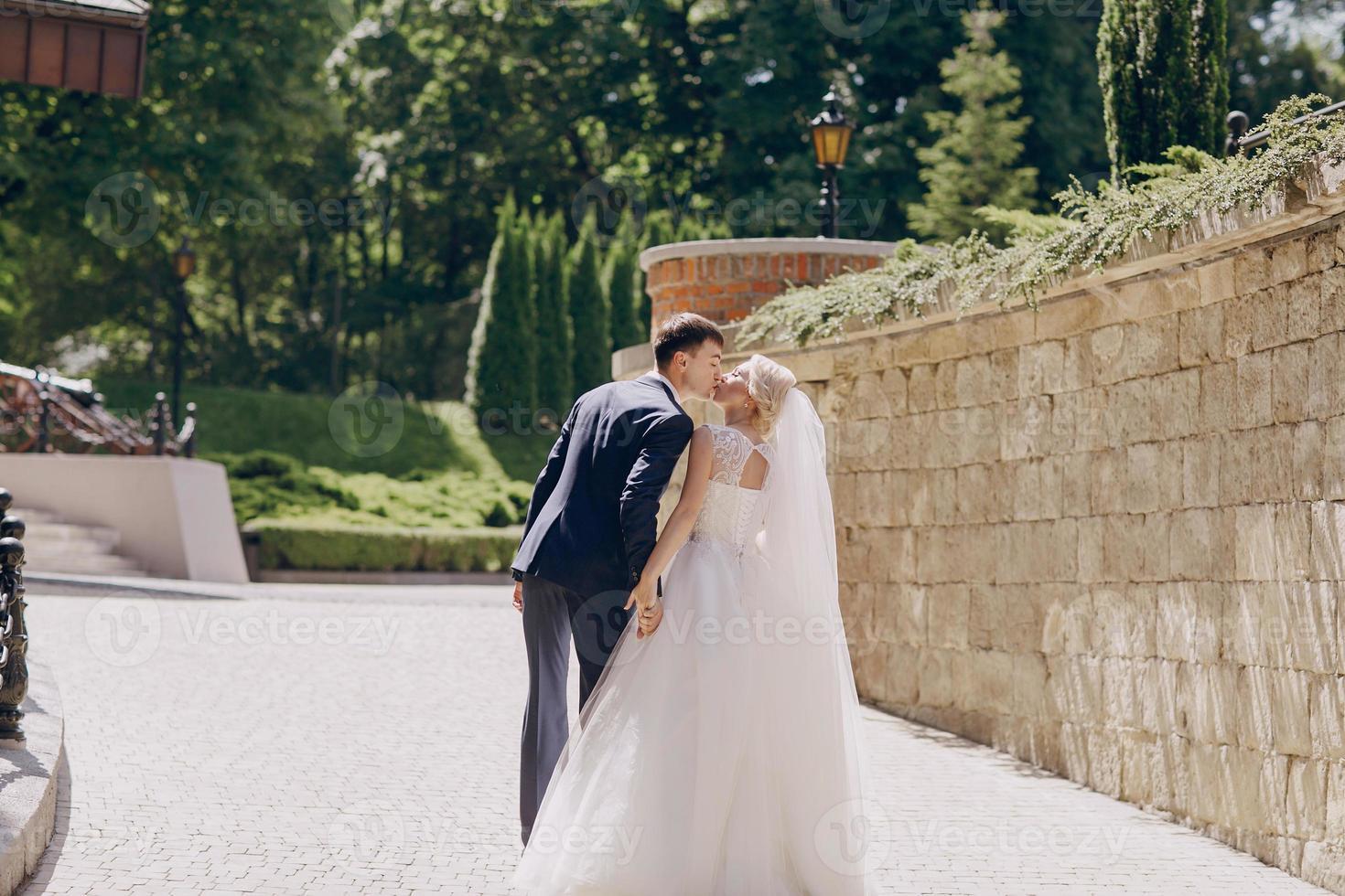 jour de soleil de mariage photo