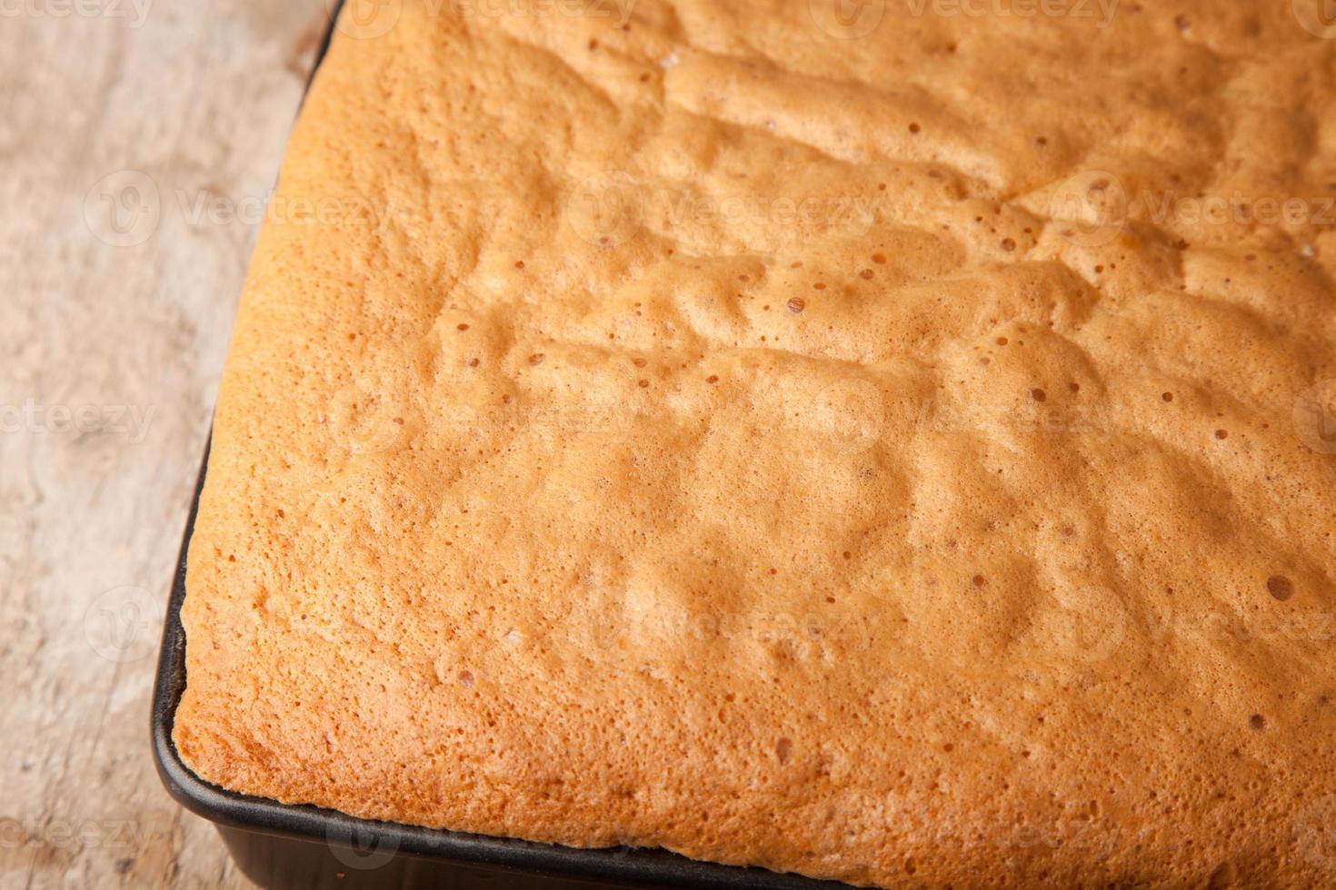 bouchent éponge à gâteau photo