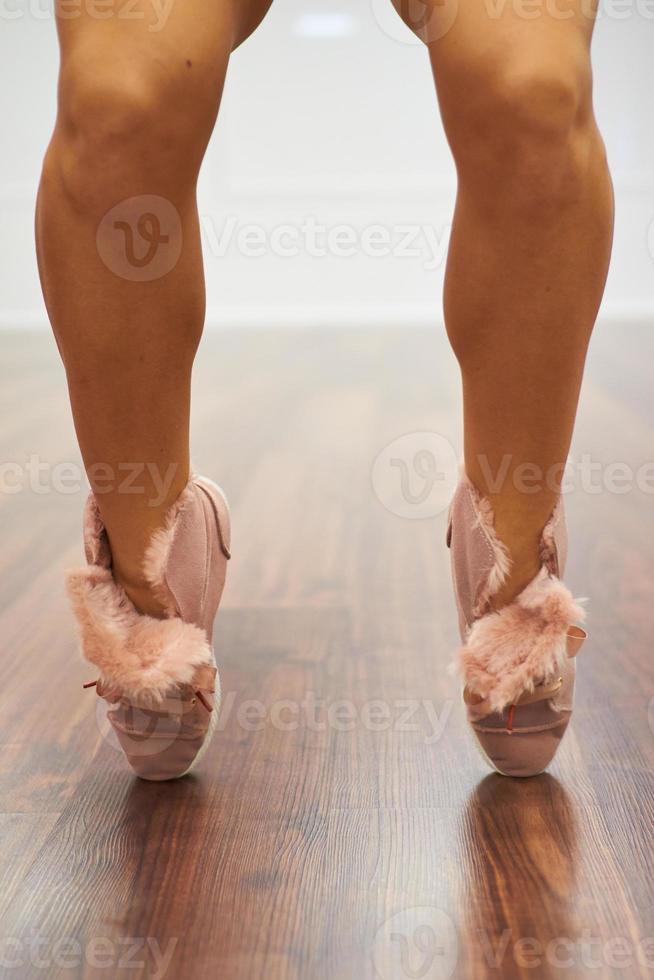 chaussures de sport bouchent photo