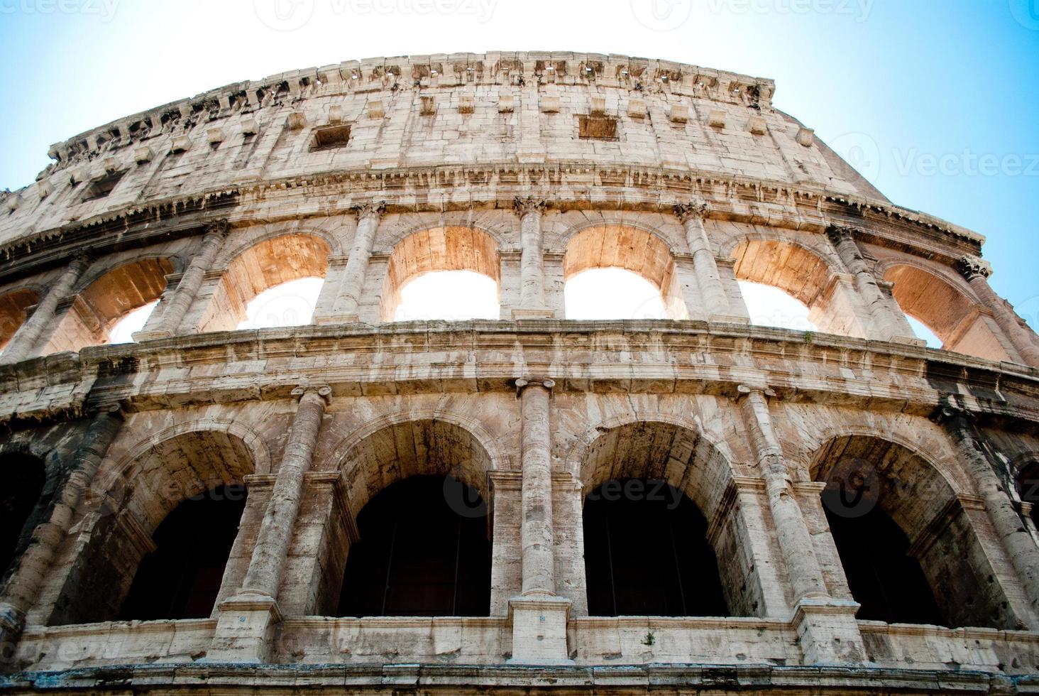 gros plan du Colisée photo