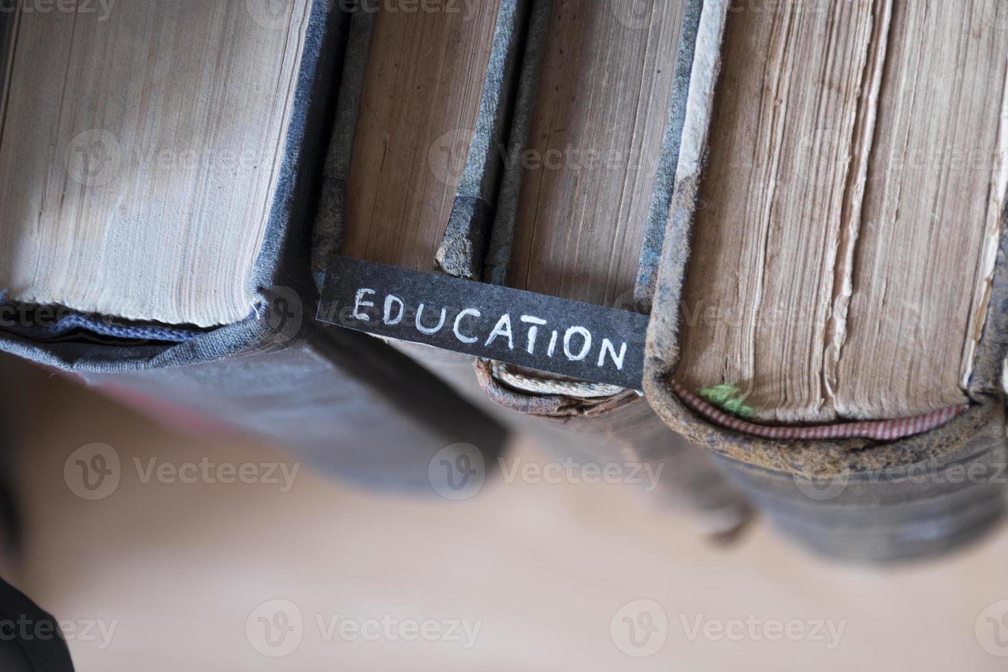 concept de l'éducation photo