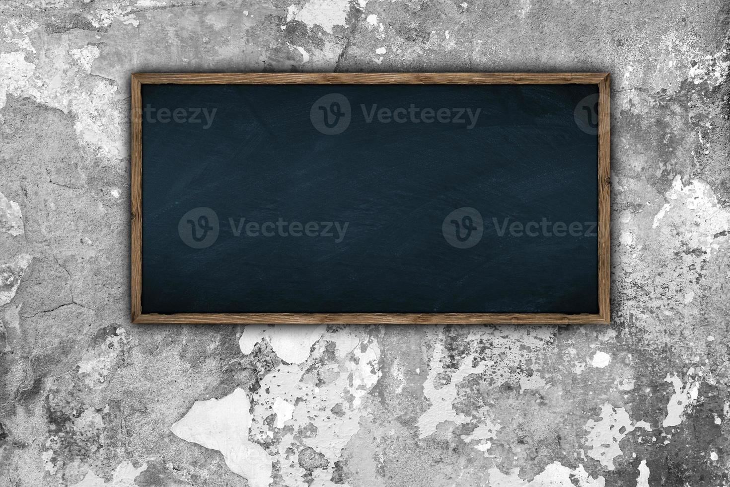 tableau noir sur mur photo