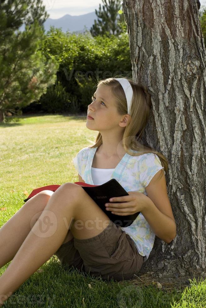L'étude de la bible photo