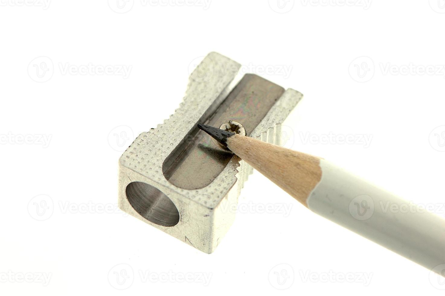 tempera matite con matita photo