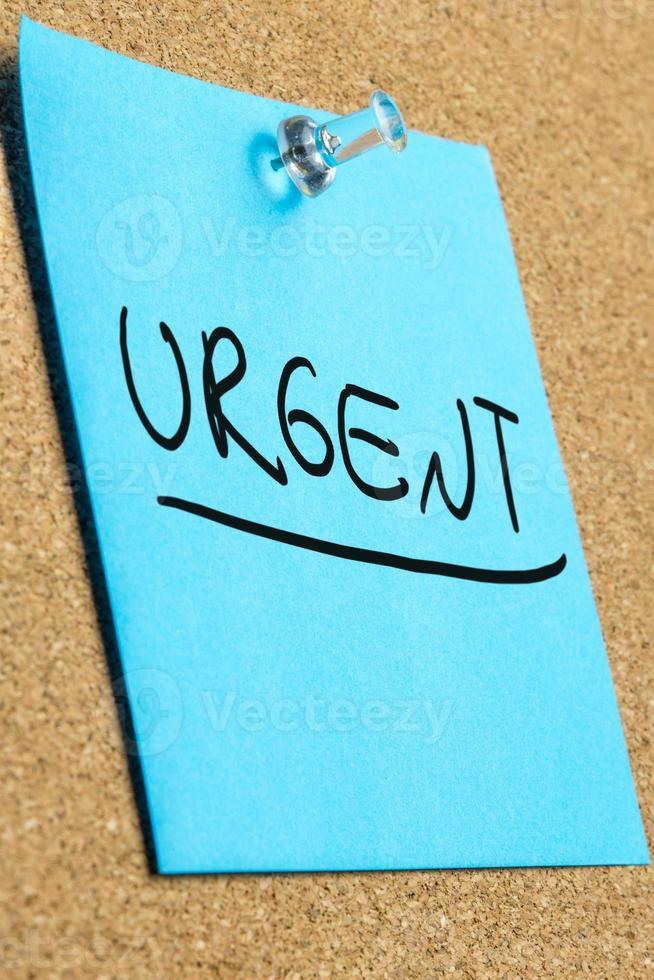 urgent photo