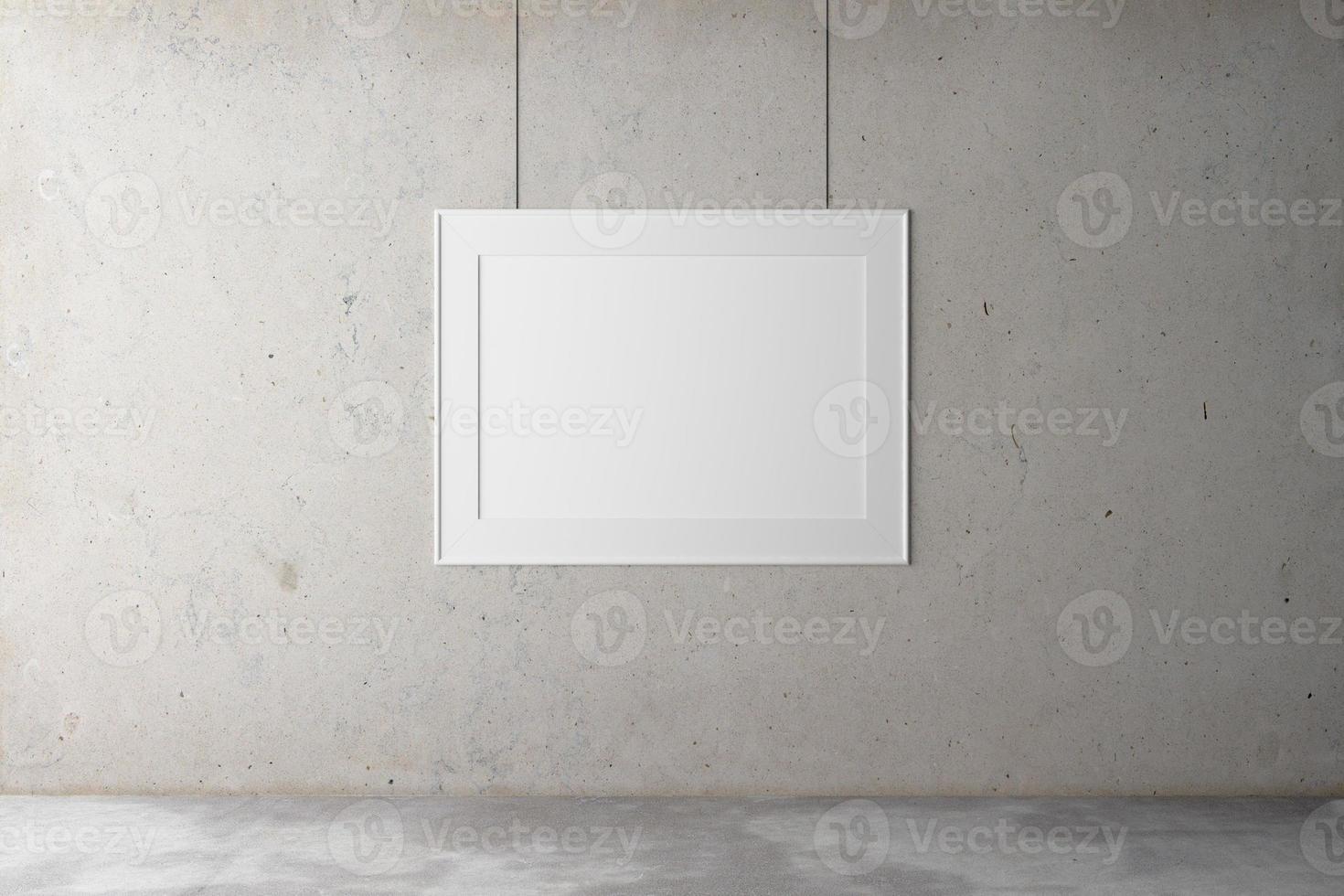 encadrer un mur de béton photo