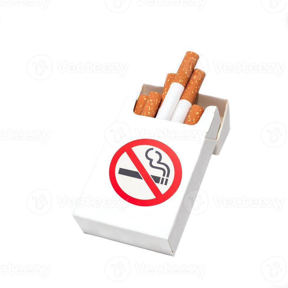 boîte de cigarettes photo