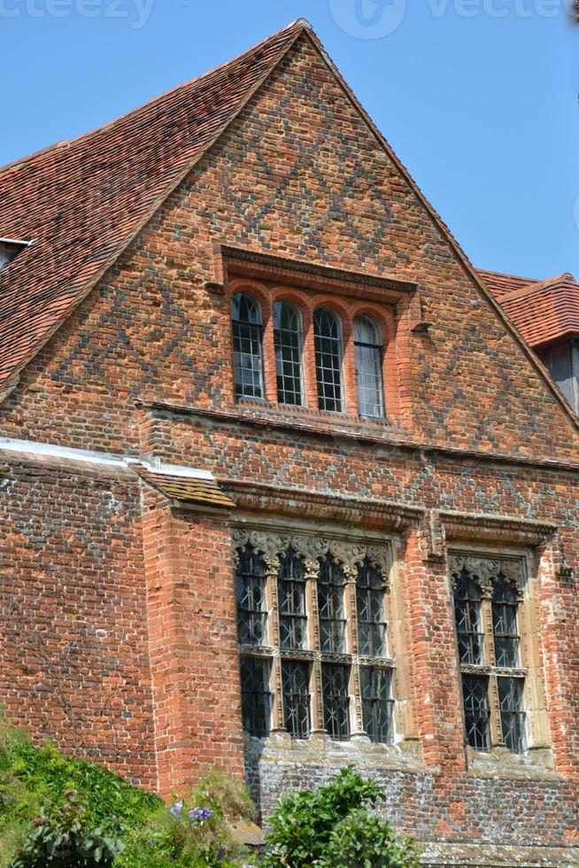 maison de brique elizabethan photo