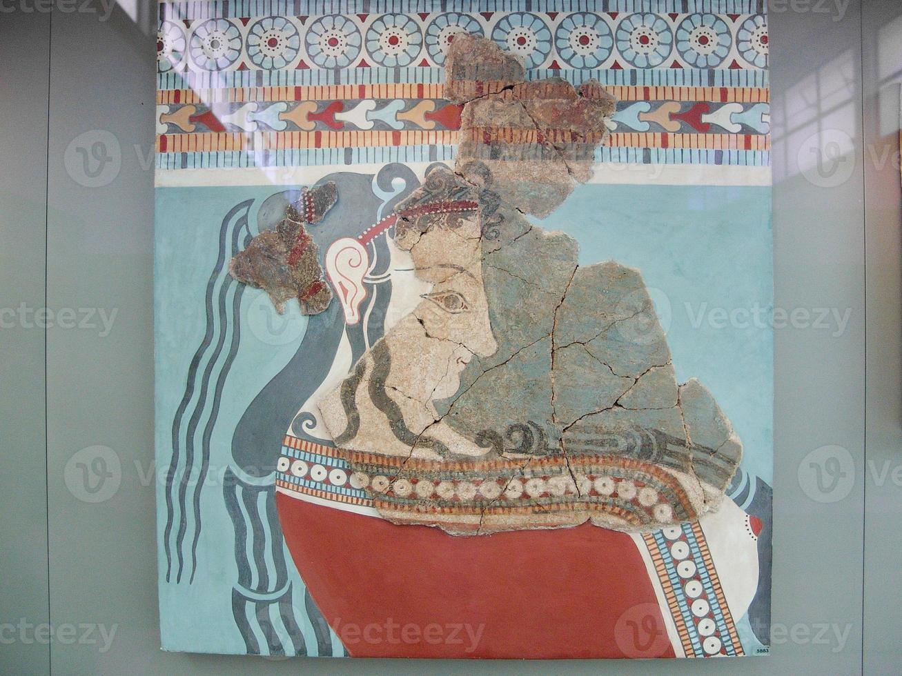 peinture grecque antique photo