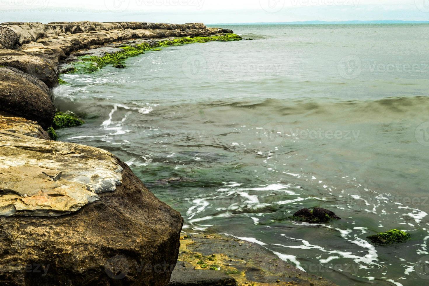 plage brise-lames boca del rio veracruz photo