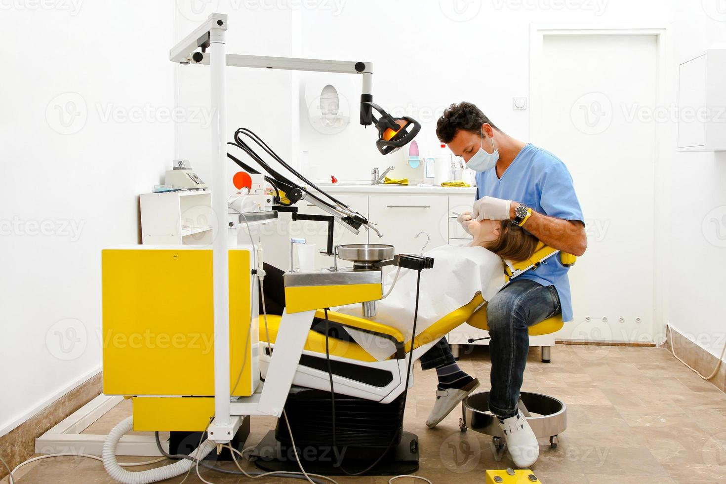 chaise de dentiste photo