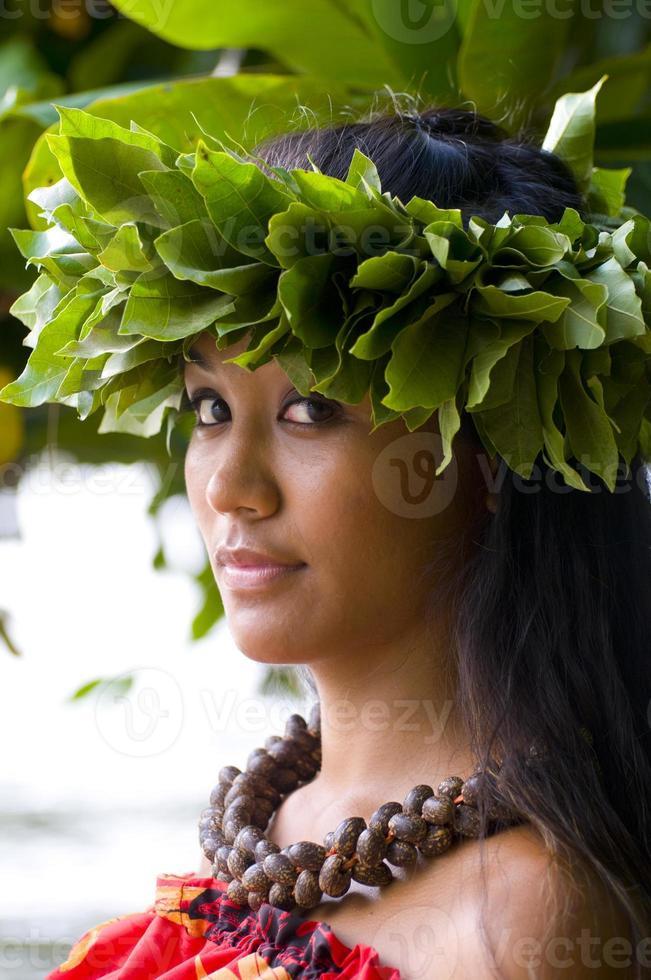 fille hawaïenne photo