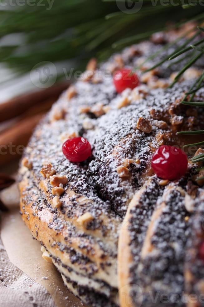 gâteau de Noël photo